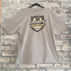 Official NHL draft T-shirt from Pittsburgh in 2012